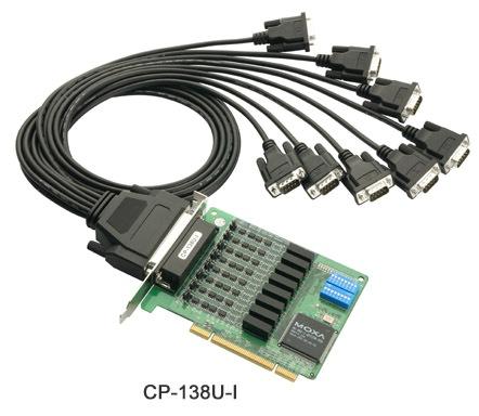 首页-产品中心-moxa卡-moxa多串口卡(pci)   8串口rs-232/422/485